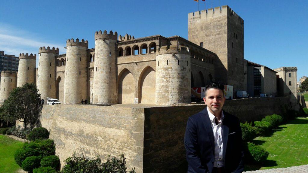 Jorge Cardona Palacio de la Aljafería